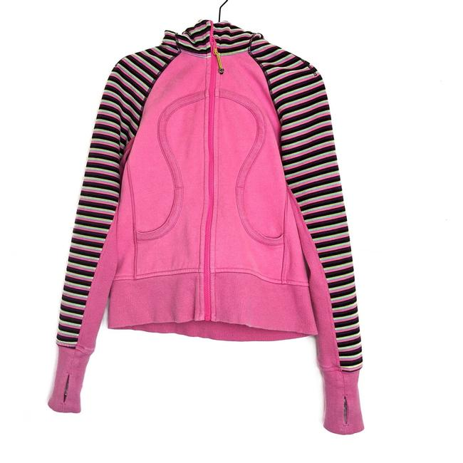 Item - Pink Scuba Rare Jacket Afterglo Activewear Outerwear Size 4 (S)