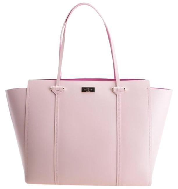 Item - Annelle Arbour Hill Pink Leather Tote