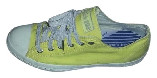 Preload https://item1.tradesy.com/images/converse-yellow-low-top-all-stars-sneakers-size-us-85-regular-m-b-28240-0-0.jpg?width=440&height=440