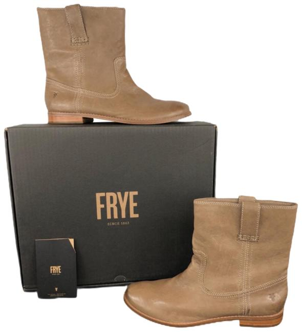 Item - Ash Taupe Brown Anna Shortie Ankle Boots/Booties Size US 9 Regular (M, B)