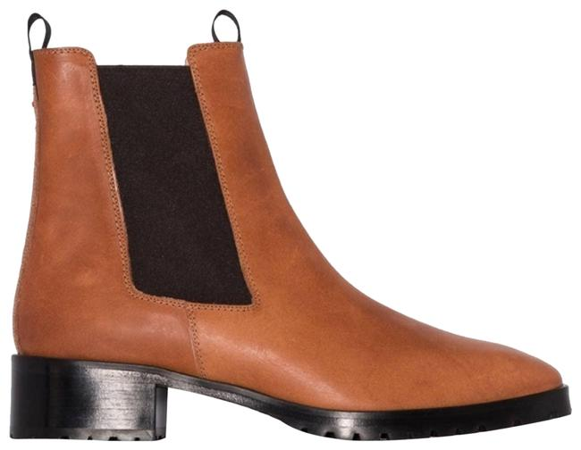 Item - Brown Karlo 40mm Leather Ankle Boots/Booties Size EU 39 (Approx. US 9) Regular (M, B)
