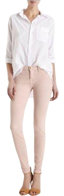 Item - Pink Light Wash Current/Elliot The Ankle Rose Smoke Skinny Jeans Size 27 (4, S)