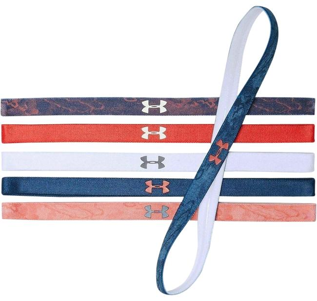 Under Armour Red Blue White Freedom Women's Mini Headbands 6 Pk Under Armour Red Blue White Freedom Women's Mini Headbands 6 Pk Image 1