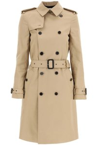 Item - Beige Sn In Gabardine Coat