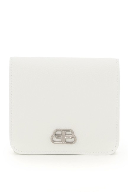 Item - White Sn Monogram Bb Logo Wallet