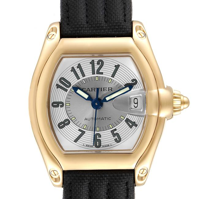 Item - Silver Roadster 18k Yellow Gold Large Mens W62005v2 Watch