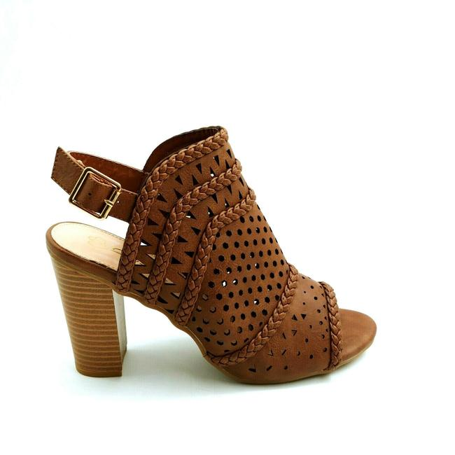 Item - Brown Woman's Lily 8 High Heel Ankle Strap Sandals Size US 10 Regular (M, B)