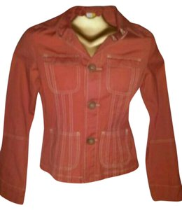 Tulle terracotta, orange red Jacket