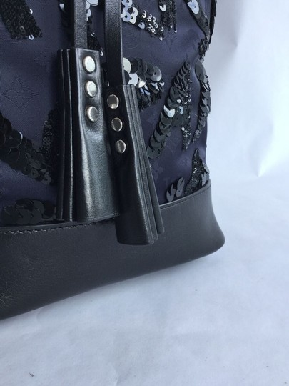 Louis Vuitton Rare Special Sequined Nn14 Gm Spotlight Limited Edition Tote in Navy, Midnight Blue