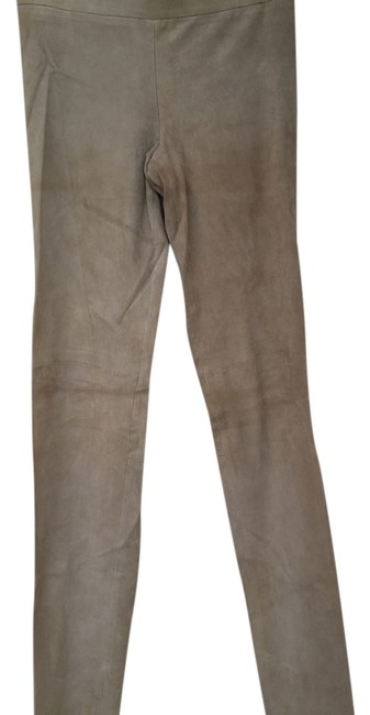 Item - Tan Suede Skinny Jeans Size 24 (0, XS)