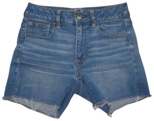 American Eagle Outfitters Cut Off Shorts Blue