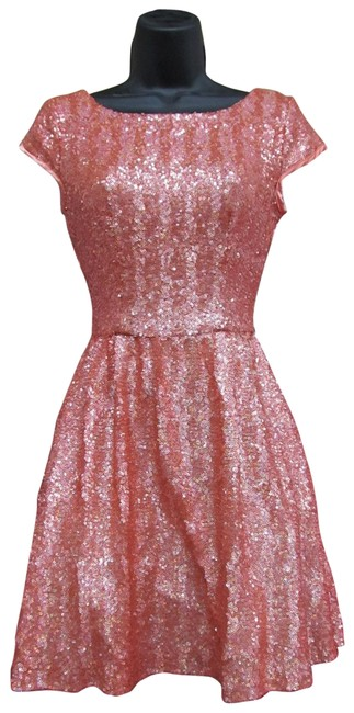 Josh and Jazz Coral 14513196/ Short Formal Dress Size 2 (XS) Josh and Jazz Coral 14513196/ Short Formal Dress Size 2 (XS) Image 1