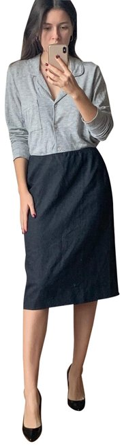 Item - Gray Wool Pencil Skirt Size 8 (M, 29, 30)