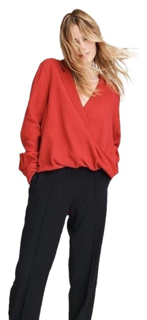 Item - Red The Dean Blouse Size 4 (S)