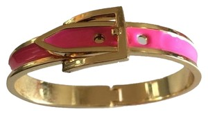 Bauble Bar BAUBLEBAR HOT PINK BUCKLE BANGLE
