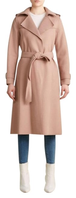 Item - Taupe Pink Marla Belted Double Face Wool-blend Coat Size 8 (M)