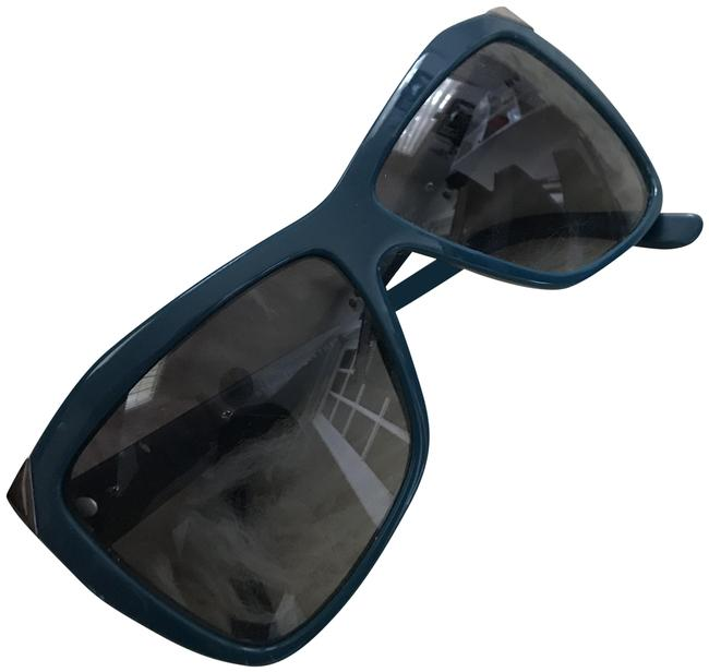 Item - Blue Retro Cat Eye Sunglasses