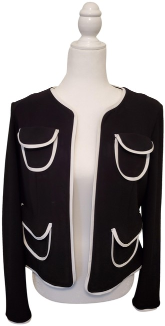 Item - Black with Little White Collection Blazer Size 10 (M)