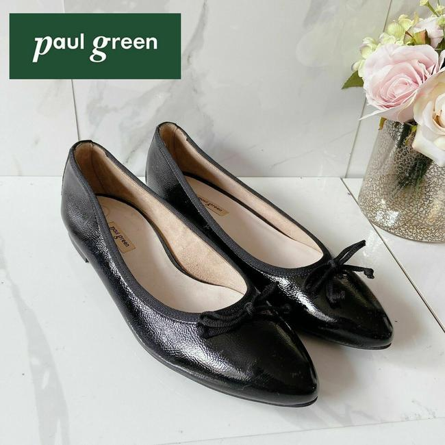 Item - Black Andre Ballet Flat Pumps Size US 9 Regular (M, B)