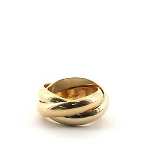 Item - Tricolor Gold Trinity 18k Medium 5.25 - 50 Ring