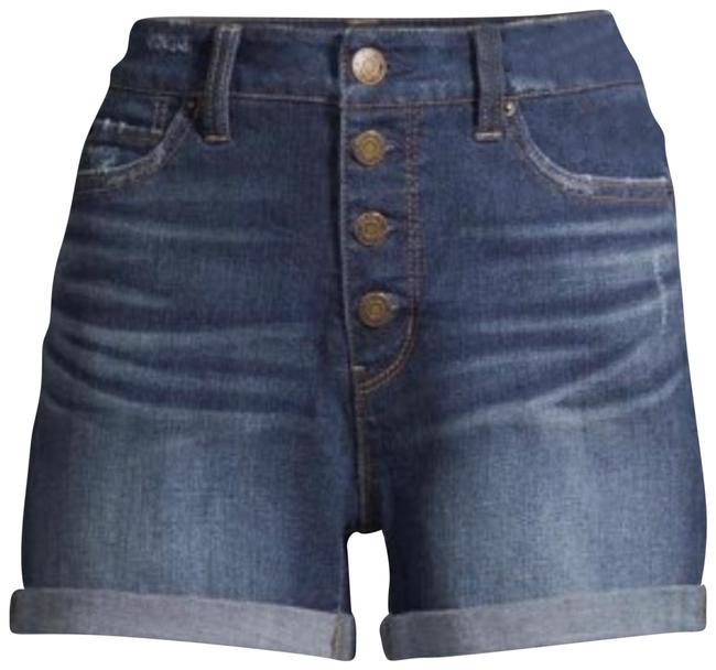 Item - Dark Wash High Rise Denim Shorts Size 6 (S, 28)