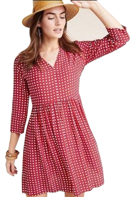 Item - Red Maeve Juno Short Casual Dress Size 2 (XS)