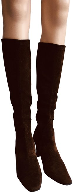 Item - Brown Espresso Stretch Shaft Tall Boots/Booties Size US 9.5 Narrow (Aa, N)