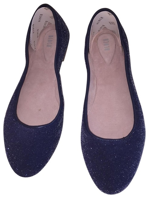 Item - Blue Yoko Flats Size US 8.5 Regular (M, B)