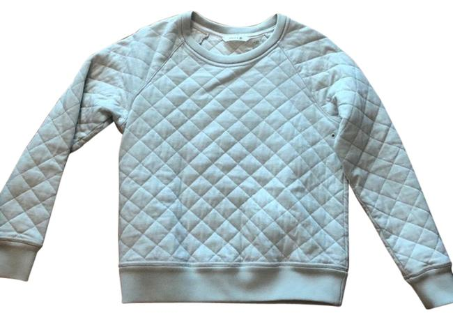 Theory 38 Diamond Quilted Stone Sweater Theory 38 Diamond Quilted Stone Sweater Image 1