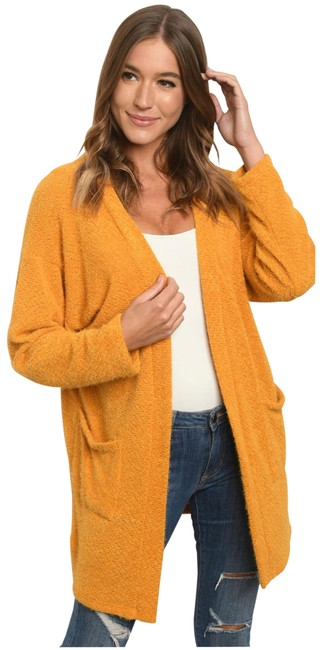 Item - Soft Open Front with Pockets Cardigan Size 12 (L)