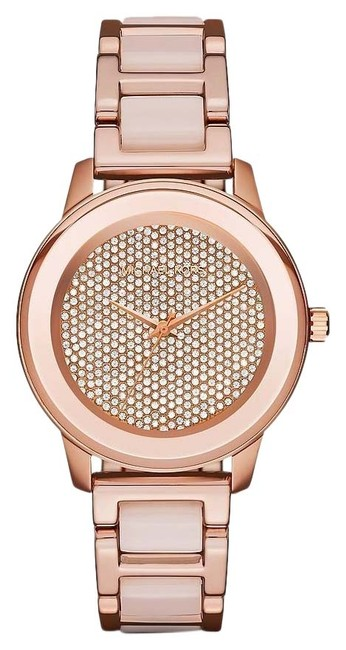 Item - Rose Gold Kinley Gold-tone and Blush Acetate Mk6432 Watch