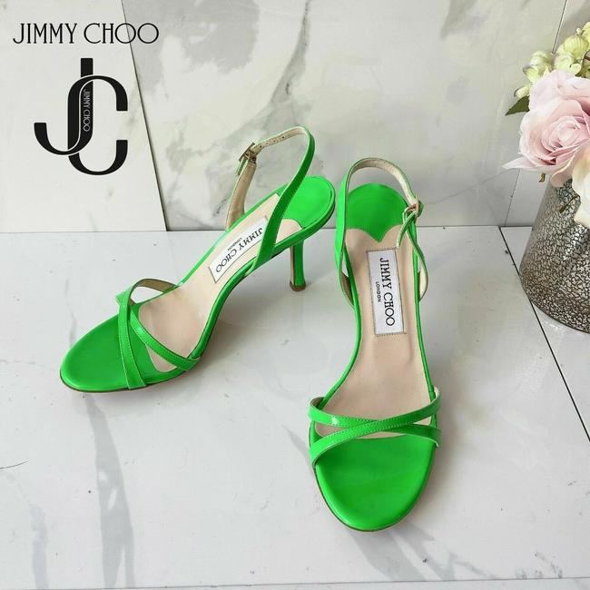 Item - Green India Crisscross Sandals Size US 6.5 Regular (M, B)