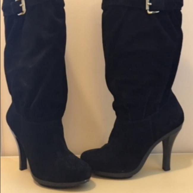 Item - Black Kinkade Suede Boots/Booties Size US 7.5 Regular (M, B)