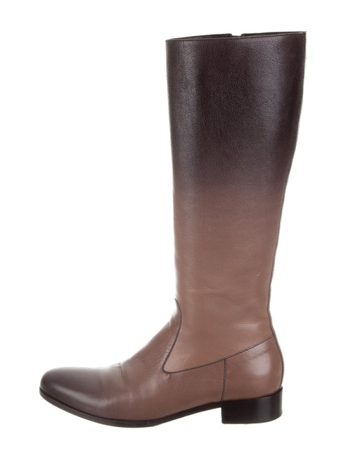 Item - Ombre Sz36 Sfumato Deerskin Leather Knee-high Riding Boots/Booties Size EU 36 (Approx. US 6) Narrow (Aa, N)