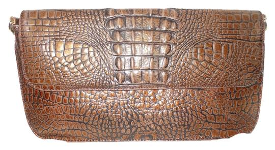 Preload https://item2.tradesy.com/images/preston-and-york-croc-embossed-shoulder-brown-leather-clutch-2825311-0-0.jpg?width=440&height=440