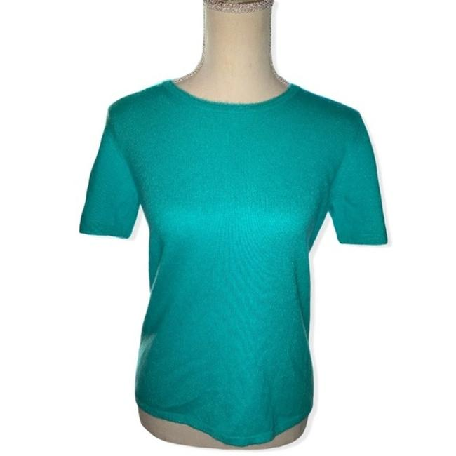 Item - Cashmere Shell Green Sweater