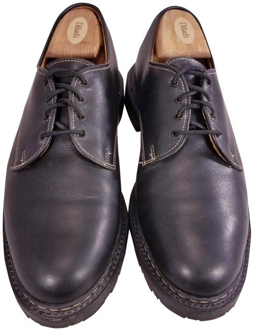 Item - Black Fulton Man Leather Oxfords 1/2 A Formal Shoes Size US 9.5 Narrow (Aa, N)