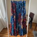 Alice + Olivia Multicolored Shannon Pleated Skirt Size 12 (L, 32, 33) Alice + Olivia Multicolored Shannon Pleated Skirt Size 12 (L, 32, 33) Image 5