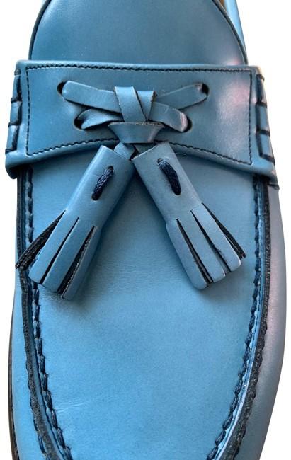 Item - Blue Trevino Flats Size US 6 Extra Wide (Ww, Ee)