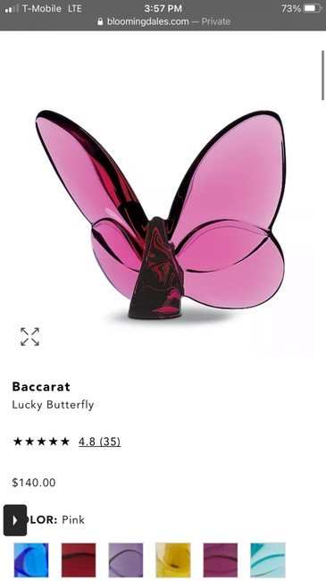"""Item - Peony Pink """"lucky"""" Butterfly Other"""