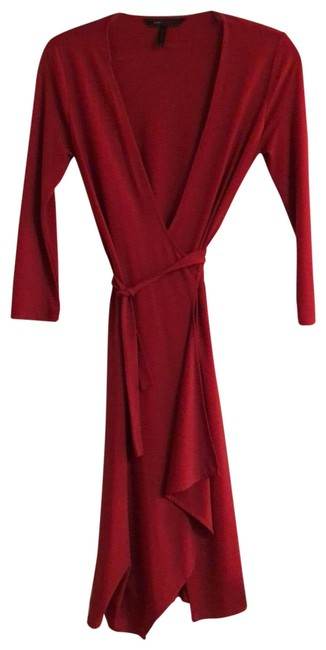 Item - Red Mid-length Cocktail Dress Size 0 (XS)