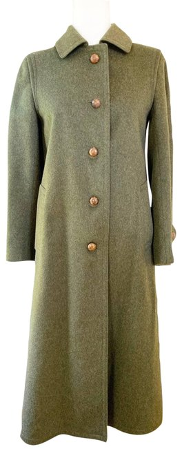 Item - Green Vtg Prorsum Loden Wool Riding Coat Size 2 (XS)