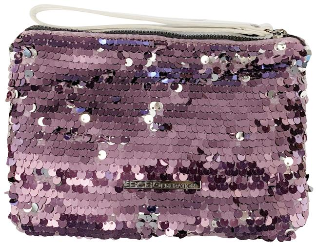 Item - Small Sequin Purple Clutch