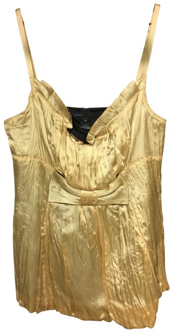 Item - Gold Babydoll Tank Top/Cami Size 4 (S)