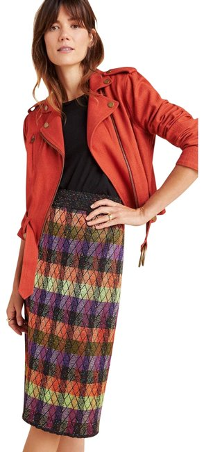 Item - Brown New Ashton Sweater Pencil By Cecilia Prado Skirt Size 6 (S, 28)