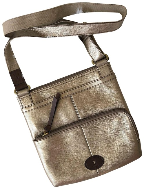 Item - Crossbody Brown Leather Messenger Bag