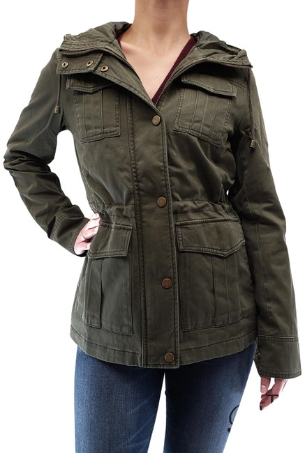 Item - Army Women's Anorak Hooded Jacket Size 8 (M)