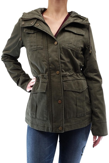 Item - Army Women's Anorak Hooded Jacket Size 16 (XL, Plus 0x)