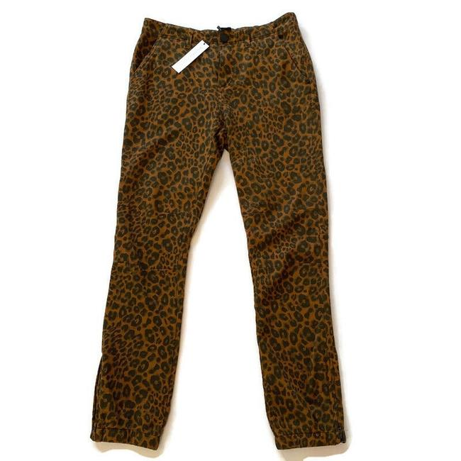Anthropologie Brown Urban Leopard Pants Size 6 (S, 28) Anthropologie Brown Urban Leopard Pants Size 6 (S, 28) Image 2