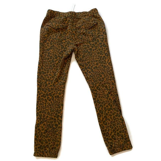 Anthropologie Brown Urban Leopard Pants Size 6 (S, 28) Anthropologie Brown Urban Leopard Pants Size 6 (S, 28) Image 3